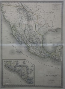 """Map of Republic of Texas & Mexico 1838"" By M. Lapis"